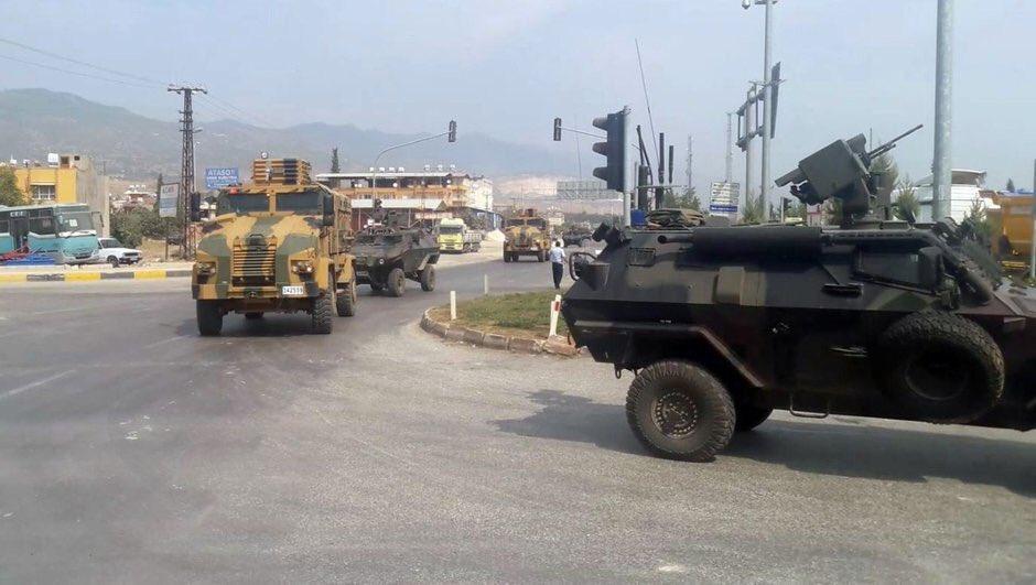 ΕΚΤΑΚΤΟ – Ξεκίνησε η εισβολή 25.000 Τούρκων στην Συρία με ρωσική αεροπορική κάλυψη – Κλείνουν την κουρδική έξοδο προς τη Μεσόγειο -Μετωπική Τουρκίας με ΗΠΑ-Ισραήλ - Εικόνα23