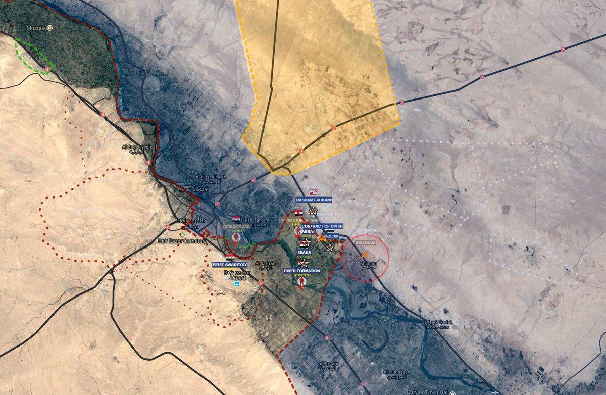 ΕΚΤΑΚΤΟ – Σφοδρές συγκρούσεις ρωσοσυριακών δυνάμεων και Κούρδων στις πετρελαιοπηγές του Ευφράτη – Άνοιξαν τα φράγματα οι ΗΠΑ – Προστρέχουν σε βοήθεια οι Τούρκοι κόβοντας τη ροή του ποταμού! - Εικόνα11