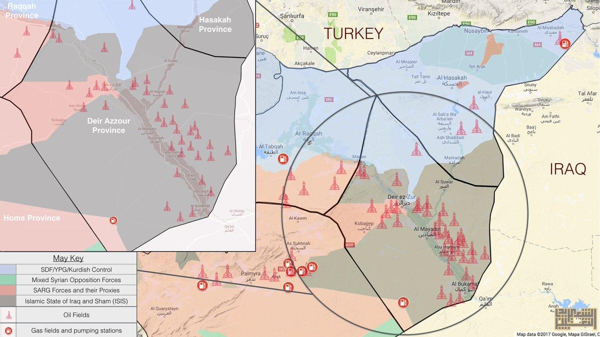 ΕΚΤΑΚΤΟ – Σφοδρές συγκρούσεις ρωσοσυριακών δυνάμεων και Κούρδων στις πετρελαιοπηγές του Ευφράτη – Άνοιξαν τα φράγματα οι ΗΠΑ – Προστρέχουν σε βοήθεια οι Τούρκοι κόβοντας τη ροή του ποταμού! - Εικόνα2