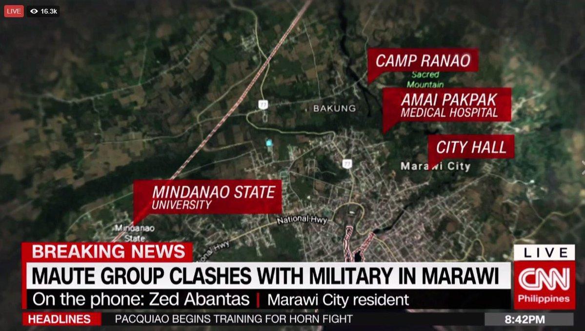 ΕΚΤΑΚΤΟ – Χαλέπι Νο 2 στις Ν.Φιλιππίνες – Εκλιπαρεί τον Β.Πούτιν για βοήθεια ο Ρ.Ντουτέρτε: «Δέχομαι εισβολή τζιχαντιστών από όλες τις χώρες του κόσμου» -Υψώθηκαν σημαίες του ISIS – Αγριες συγκρούσεις και αποκεφαλισμοί – Δείτε βίντεο - Εικόνα9