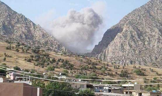 ΕΚΤΑΚΤΟ- Ανοιξαν οι πύλες της κολάσεως στη Μέση Ανατολή: Ο ιρανικός στρατός σφυροκοπά το Ιρακινό Κουρδιστάν- Ανέλαβε δράση και η Αεροπορία – Θα πνίξουν στο αίμα τους Κούρδους με την Τουρκία - Εικόνα1