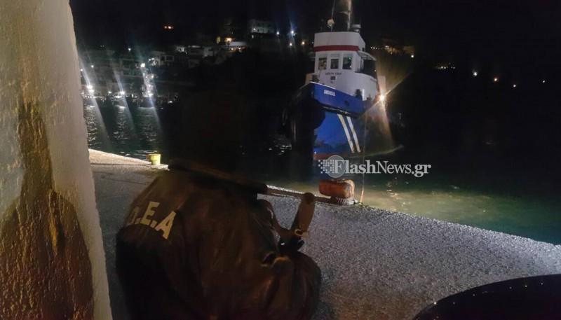 Έκτακτο: Ανταλλαγή πυροβολισμών και ρεσάλτο από κομάντος της ΜΥΑ σε πλοίο νότια της Κρήτης - Εικόνα0