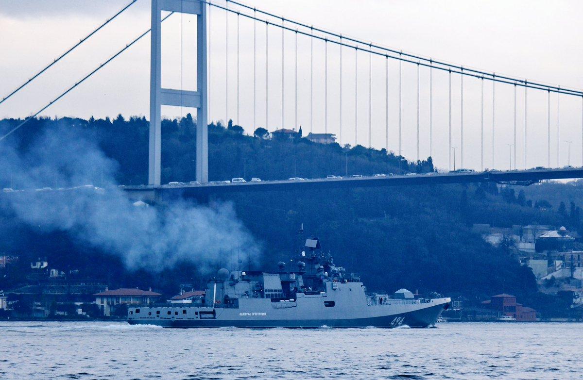 """ΕΚΤΑΚΤΟ: Τα φονικά πυρηνοκίνητα υποβρύχια μαζί με την υπερ-φρεγάτα «Admiral Grigorovich» και πυραύλους SS-N-27 """"Sizzler"""" στέλνει απέναντι από τον 6ο Στόλο στη Μεσόγειο ο Β.Πούτιν! - Εικόνα0"""