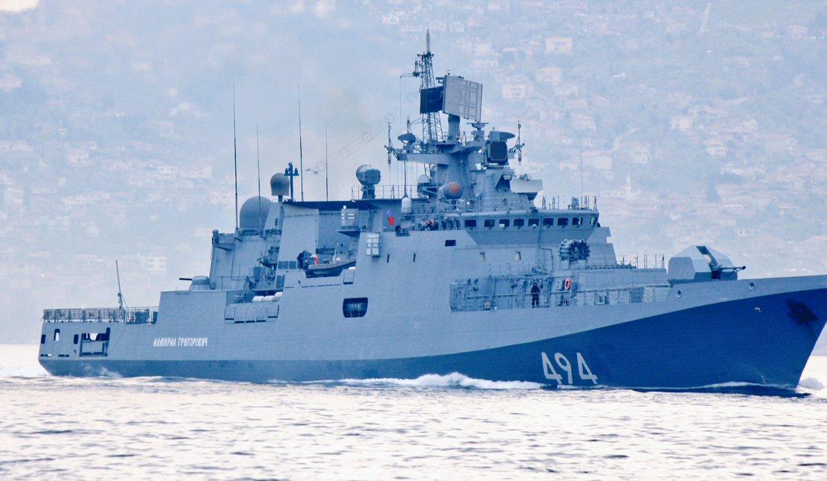 """ΕΚΤΑΚΤΟ: Τα φονικά πυρηνοκίνητα υποβρύχια μαζί με την υπερ-φρεγάτα «Admiral Grigorovich» και πυραύλους SS-N-27 """"Sizzler"""" στέλνει απέναντι από τον 6ο Στόλο στη Μεσόγειο ο Β.Πούτιν! - Εικόνα2"""