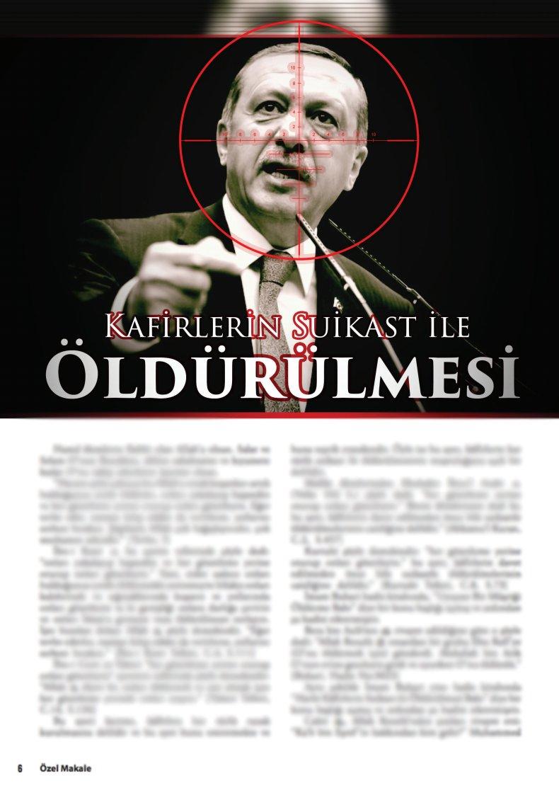 ΕΚΤΑΚΤΟ: ΗΠΑ και ISIS επικήρυξαν το κεφάλι του Ρ.Τ.Ερντογάν – «Έτσι θα πεθάνει και θα ακολουθήσει νέο πραξικόπημα» – Θα τον σώσει η Ρωσία ξανά; – Βίντεο και εικόνες - Εικόνα4