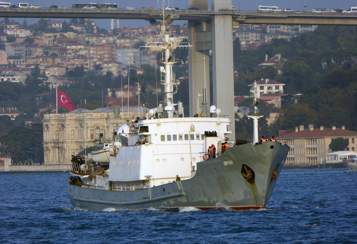 ΕΚΤΑΚΤΟ: Κλείνουν τα Στενά – Βυθίζεται το ρωσικό πλοίο ηλεκτρονικού πολέμου – Οι πρώτες εικόνες και βίντεο – Δείτε σε ζωντανή σύνδεση - Εικόνα1