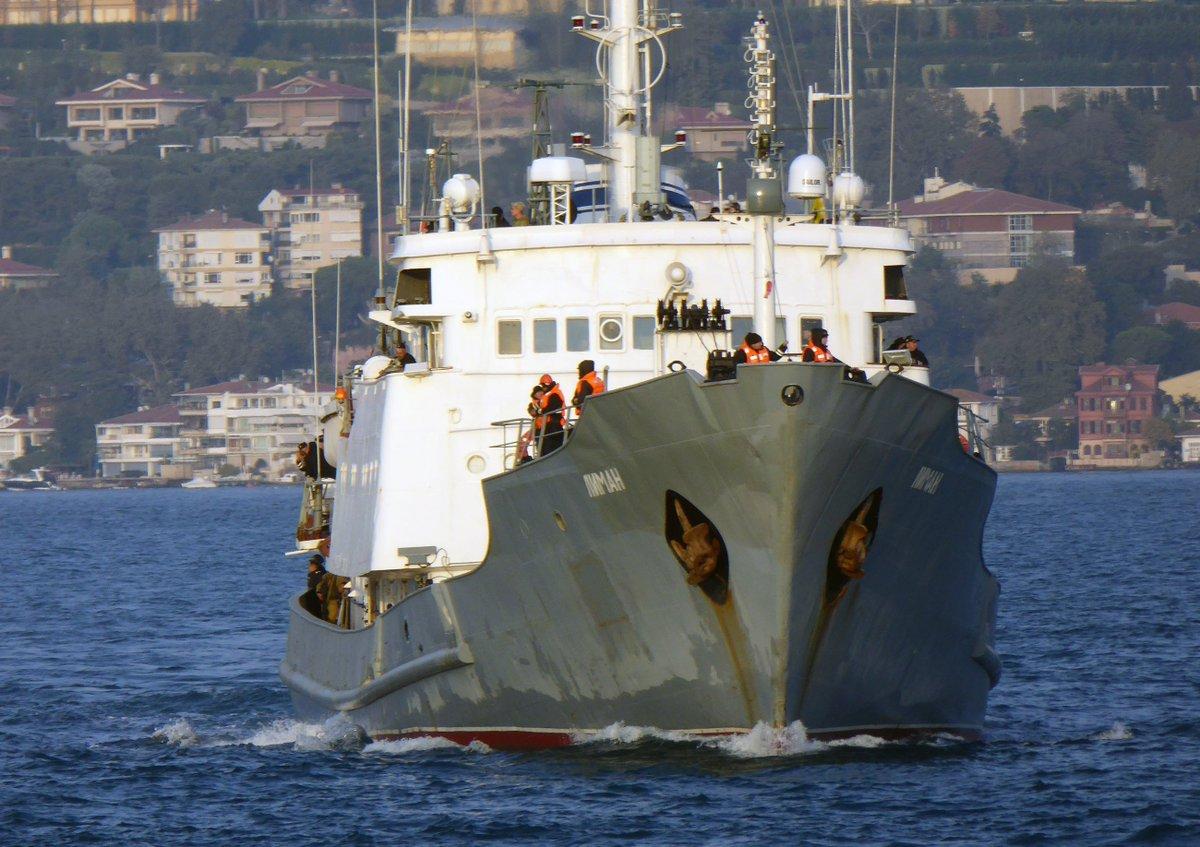 ΕΚΤΑΚΤΟ: Κλείνουν τα Στενά – Βυθίζεται το ρωσικό πλοίο ηλεκτρονικού πολέμου – Οι πρώτες εικόνες και βίντεο – Δείτε σε ζωντανή σύνδεση - Εικόνα5