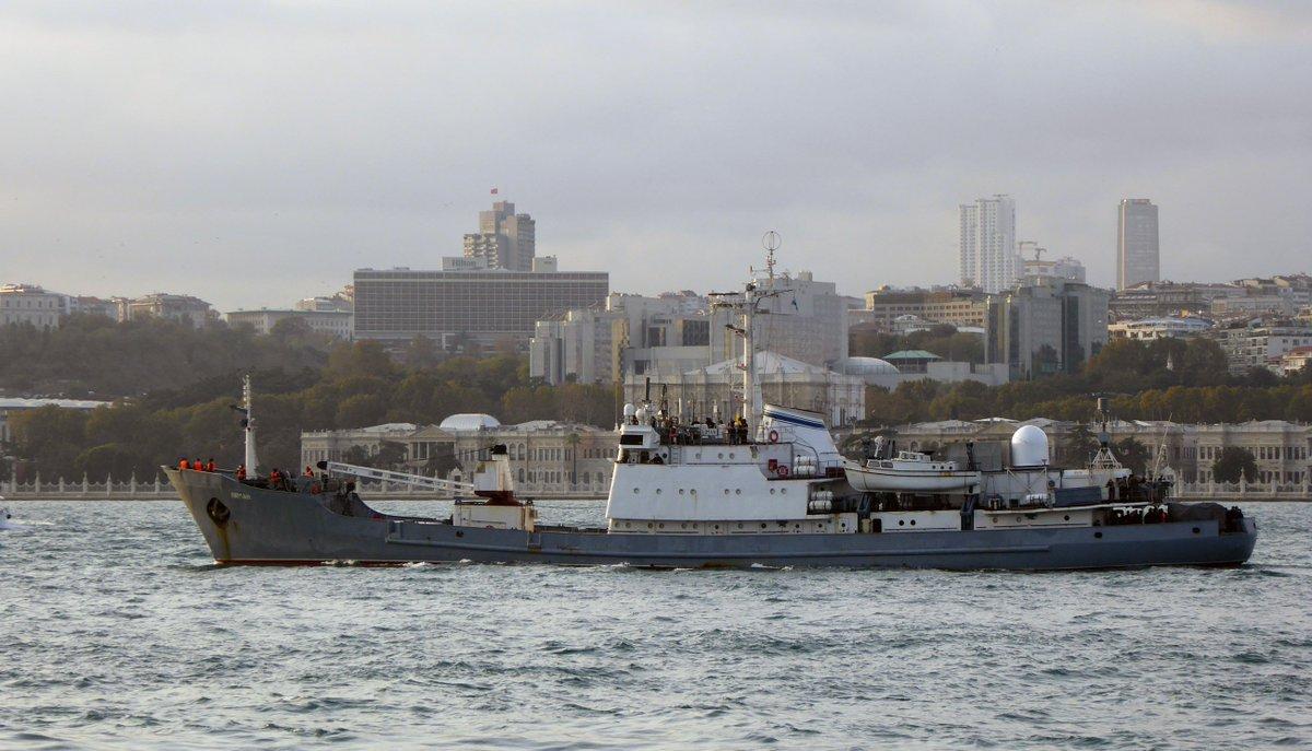 ΕΚΤΑΚΤΟ: Κλείνουν τα Στενά – Βυθίζεται το ρωσικό πλοίο ηλεκτρονικού πολέμου – Οι πρώτες εικόνες και βίντεο – Δείτε σε ζωντανή σύνδεση - Εικόνα6