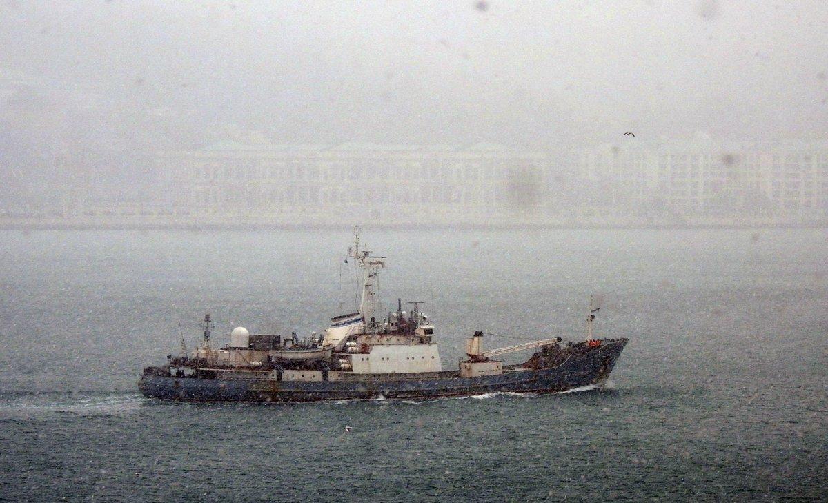ΕΚΤΑΚΤΟ: Κλείνουν τα Στενά – Βυθίζεται το ρωσικό πλοίο ηλεκτρονικού πολέμου – Οι πρώτες εικόνες και βίντεο – Δείτε σε ζωντανή σύνδεση - Εικόνα7