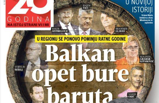 ΕΚΤΑΚΤΟ: «Να προετοιμάζονται για κόλαση οι Αλβανοί» απαντούν σερβικά ΜΜΕ: Σέρβος υπουργός εμπλέκει Ελλάδα-ΠΓΔΜ-Μαυροβούνιο σε τρίτο βαλκανικό πόλεμο – Ο Ε.Ράμα έδωσε όρκο «Μεγάλης Αλβανίας»… - Εικόνα0