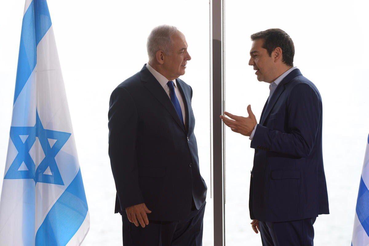 Έκτακτο: Πρώτη αναφορά του Α. Τσίπρα για κοινή ΑΟΖ Ελλάδας – Κύπρου – Ισραήλ -Τί είπε και για τον EASTMED – Έπεσε «βόμβα» μετά το τέλος της τριμερής-Δείτε βίντεο και εικόνες - Εικόνα0