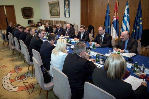 ΕΚΤΑΚΤΟ: Συμμαχία Ελλάδας-Σερβίας-Ρωσίας-Κίνας και μήνυμα σε Αλβανία-Τουρκία – Α.Τσίπρας: «Στις κρίσιμες στιγμές βρεθήκαμε πάντα στην ίδια πλευρά» – Σύνδεση Πειραιά-Θεσ/κη-Βελιγράδι για τον «Δρόμο του Μεταξιού» - Εικόνα0