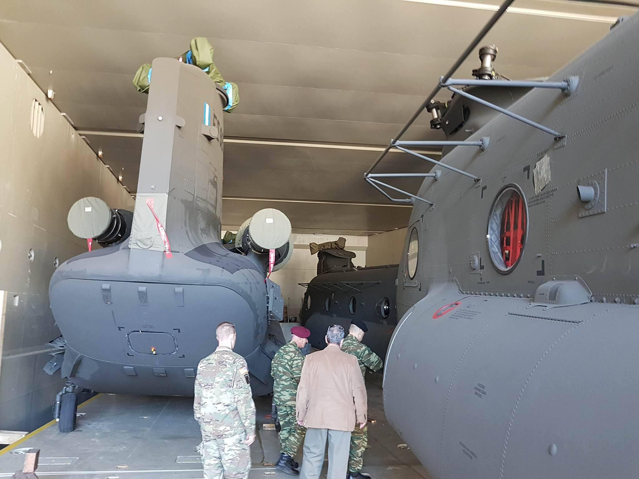 ΗΠΑ σε Ελλάδα: «Επανεξοπλισμός εδώ και τώρα, μην χάνετε χρόνο» – Εφτασαν τα πρώτα CH-47D Chinook – Ακολουθούν OH-58D Kiowa Warrior - Εικόνα7
