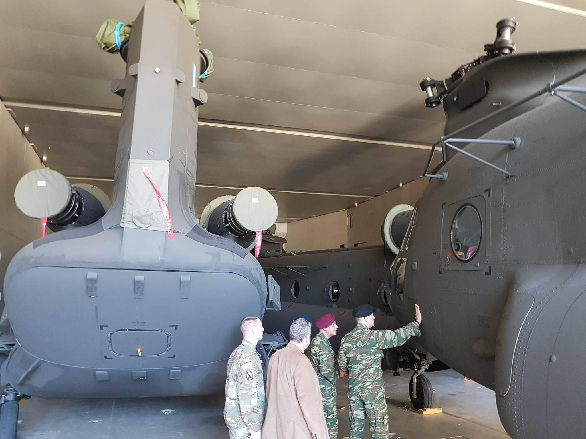ΗΠΑ σε Ελλάδα: «Επανεξοπλισμός εδώ και τώρα, μην χάνετε χρόνο» – Εφτασαν τα πρώτα CH-47D Chinook – Ακολουθούν OH-58D Kiowa Warrior - Εικόνα9