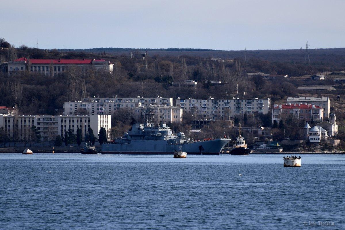 Ενέδρα θανάτου στην καρδιά του Αιγαίου: Φορτηγό πλοίο εμβόλισε ρωσικό αποβατικό στο Στενό Καρπάθου! - Εικόνα1