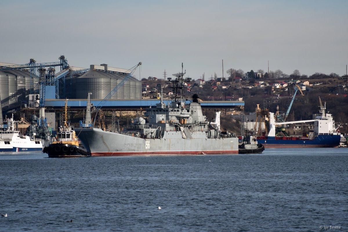 Ενέδρα θανάτου στην καρδιά του Αιγαίου: Φορτηγό πλοίο εμβόλισε ρωσικό αποβατικό στο Στενό Καρπάθου! - Εικόνα2