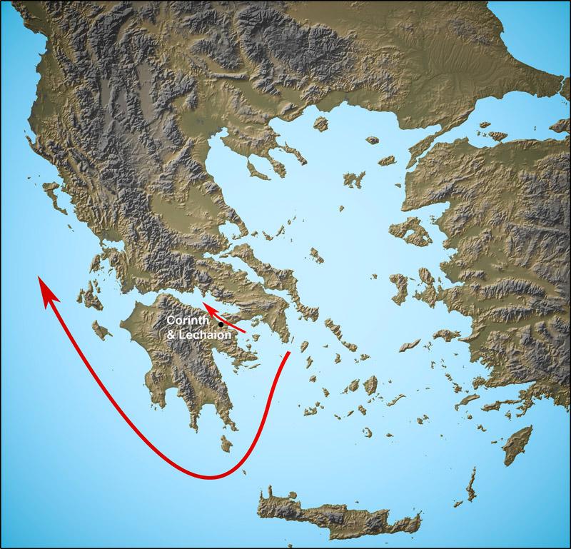 Εντυπωσιακές εικόνες από το αρχαίο λιμάνι στο Λέχαιο: Τι ανακάλυψαν οι αρχαιολόγοι - Εικόνα 7