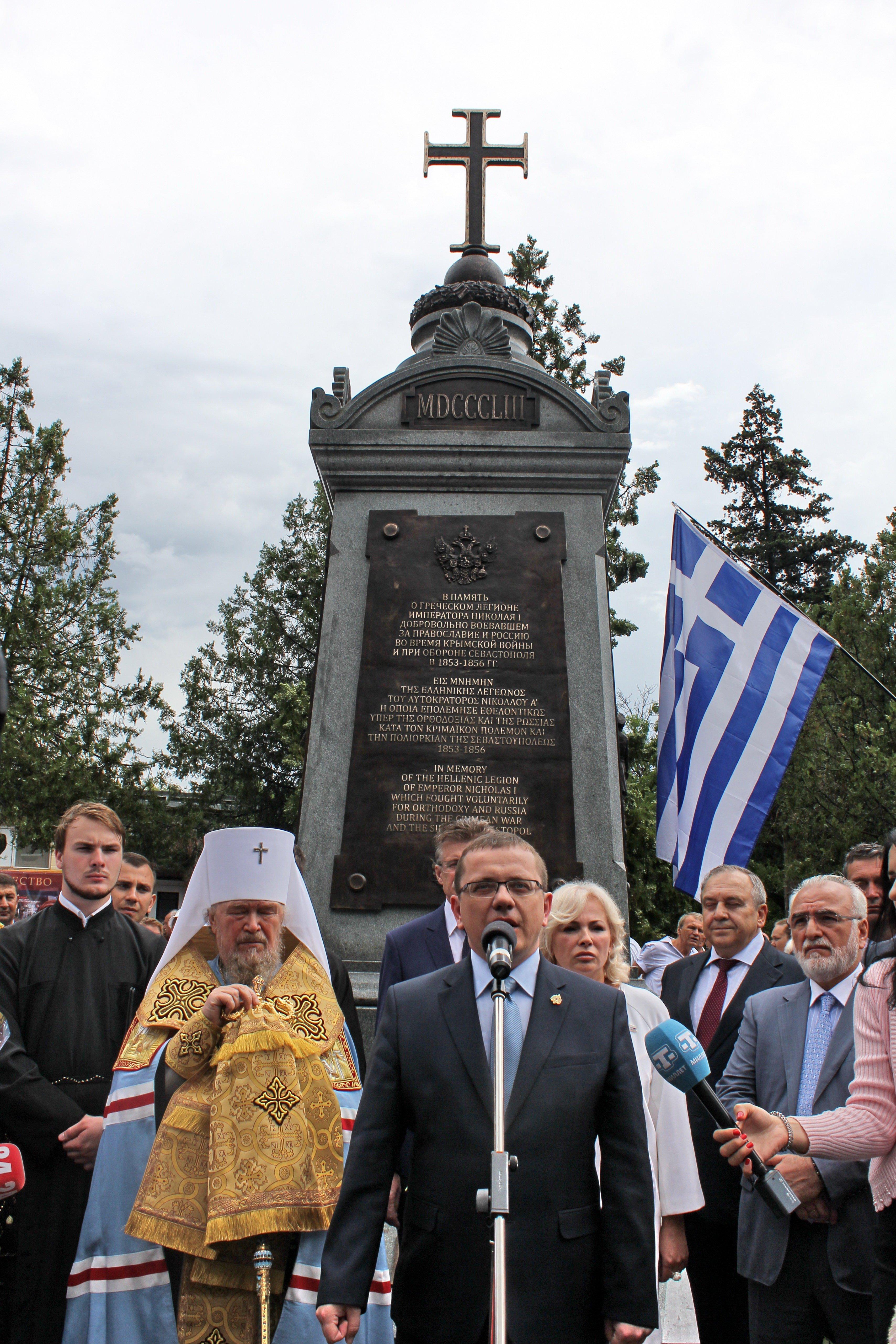 Με εντολή Πούτιν μνημείο για τους Έλληνες εθελοντές του Κριμαικού - Εικόνα1