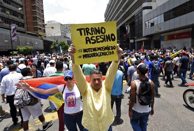 Νέα επεισόδια στη Βενεζουέλα: Δακρυγόνα από την αστυνομία εναντίον διαδηλωτών - Εικόνα 2