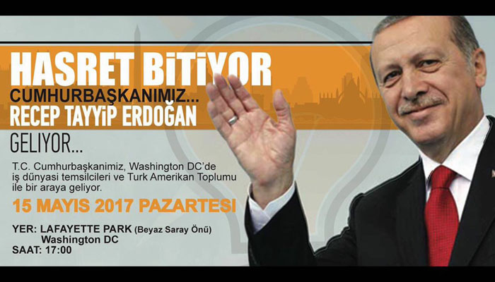 Επίδειξη δύναμης Ερντογάν στον Τραμπ – Θα μιλήσει σε συλλαλητήριο ισλαμιστών έξω από τον Λευκό Οίκο - Εικόνα0