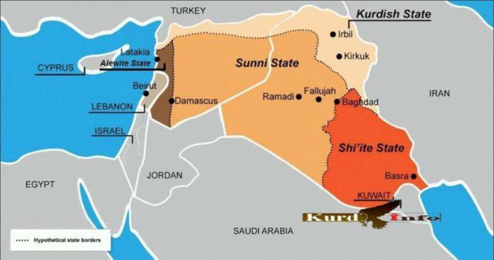 Επικίνδυνες πλανητικές εξελίξεις: Οι ΗΠΑ έθεσαν σε εφαρμογή το σχέδιο «Μεγάλη Μέση Ανατολή» με τη δημιουργία του «Μεγάλου Ισραήλ» – Ερχεται αιματοχυσία δίχως τέλος (χάρτης) - Εικόνα2