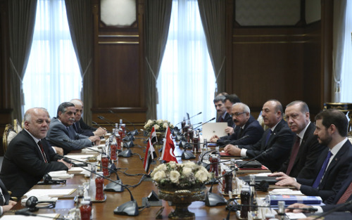 Ο Ερντογάν συναντήθηκε με τον Ιρακινό πρωθυπουργό: Είναι καιρός να συνεργαστούμε [εικόνες] - Εικόνα
