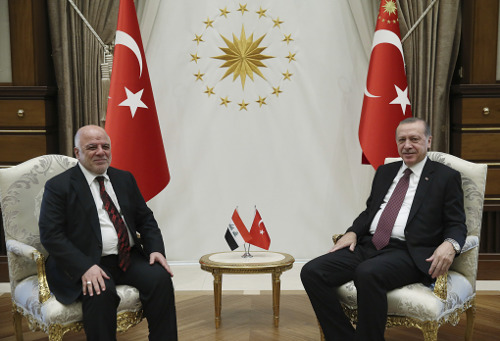 Ο Ερντογάν συναντήθηκε με τον Ιρακινό πρωθυπουργό: Είναι καιρός να συνεργαστούμε [εικόνες] - Εικόνα1