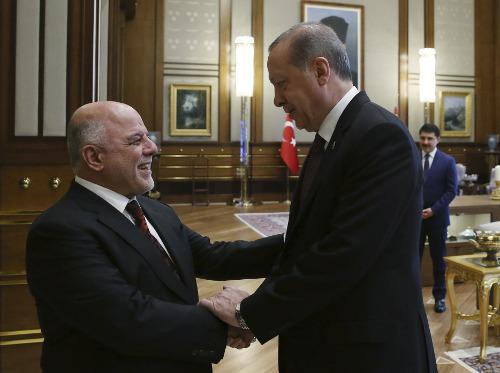 Ο Ερντογάν συναντήθηκε με τον Ιρακινό πρωθυπουργό: Είναι καιρός να συνεργαστούμε [εικόνες] - Εικόνα2