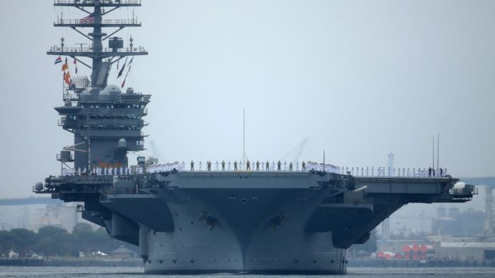 Εσπευσμένα τρία αμερικανικά αεροπλανοφόρα στον Ειρηνικό – Σούπερ ηλεκτρομαγνητική καταιγίδα θα σαρώσει τη Β.Κορέα - Εικόνα0