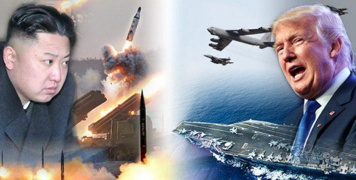 Εσπευσμένα τρία αμερικανικά αεροπλανοφόρα στον Ειρηνικό – Σούπερ ηλεκτρομαγνητική καταιγίδα θα σαρώσει τη Β.Κορέα - Εικόνα2