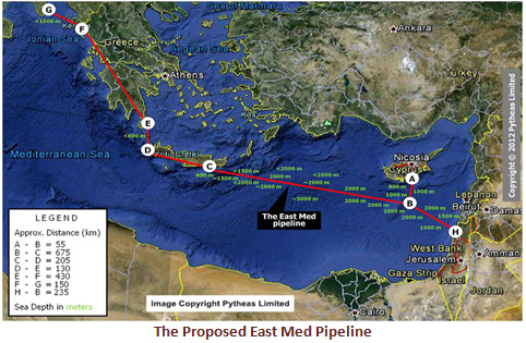 Eurοasia Interconnector με ηλεκτρική σύνδεση Ισραήλ-Κύπρου-Ελλάδος «κλειδώνει» το Αιγαίο -«Λύσσαξαν» στην Άγκυρα οι Τούρκοι - Εικόνα0
