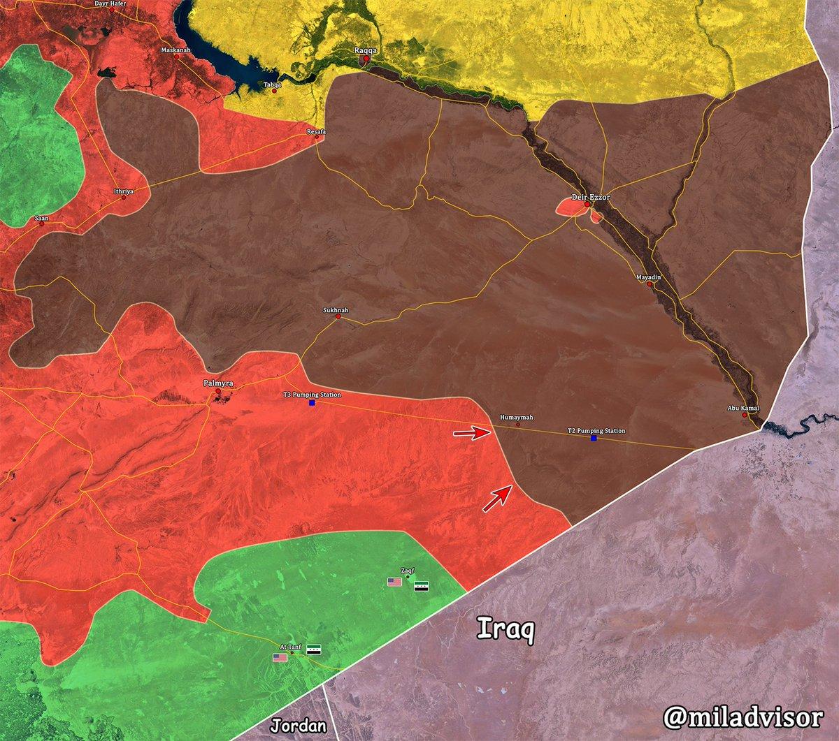 Φλέγεται η Deir Ezzor: Σαρωτικοί βομβαρδισμοί με τον συριακό Στρατό σε απόσταση αναπνοής από την πόλη και τους «Αλιγάτορες» ασταμάτητους (βίντεο, εικόνες) - Εικόνα3