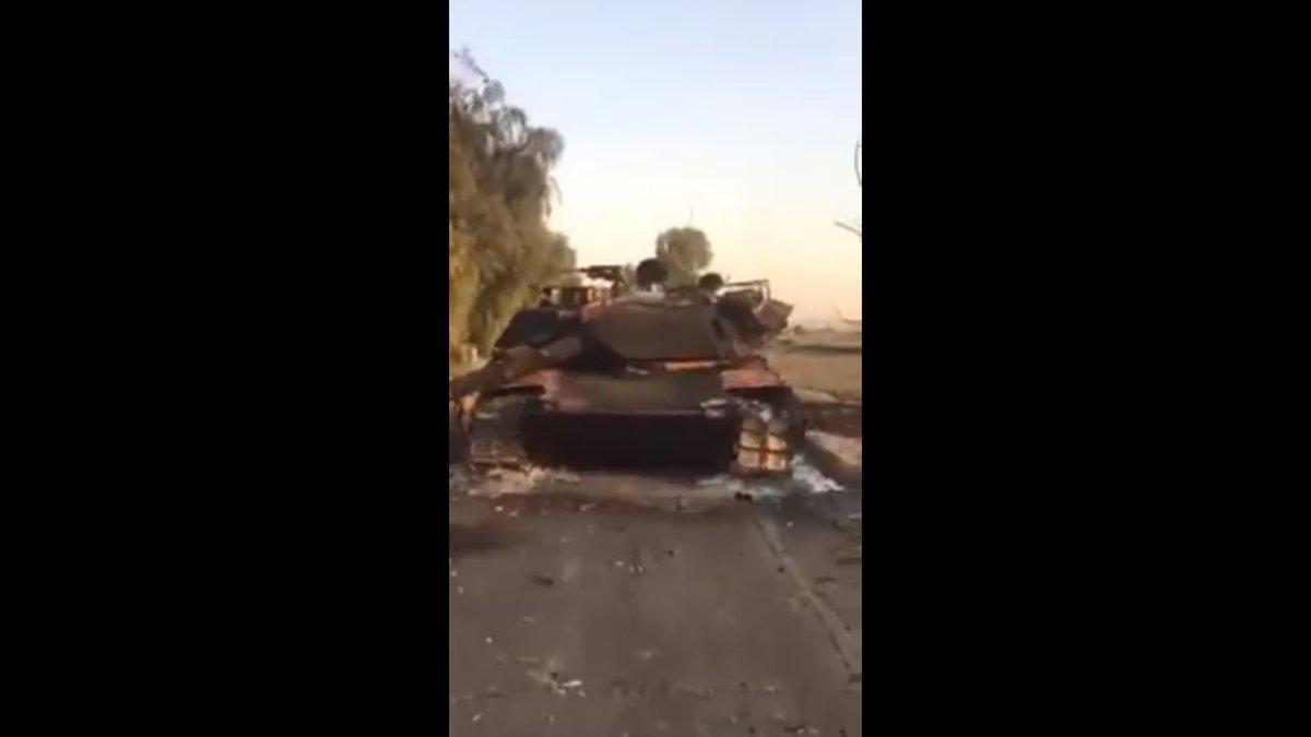 Φλέγονται «σαν λαμπάδες» αμερικανικά άρματα μάχης M1 Abrams – Αγριες συγκρούσεις 50 χλμ από την Ερμπίλ – Οι Κούρδοι ξεκινούν αντεπίθεση μετά την παρέμβαση ΗΠΑ - Εικόνα0