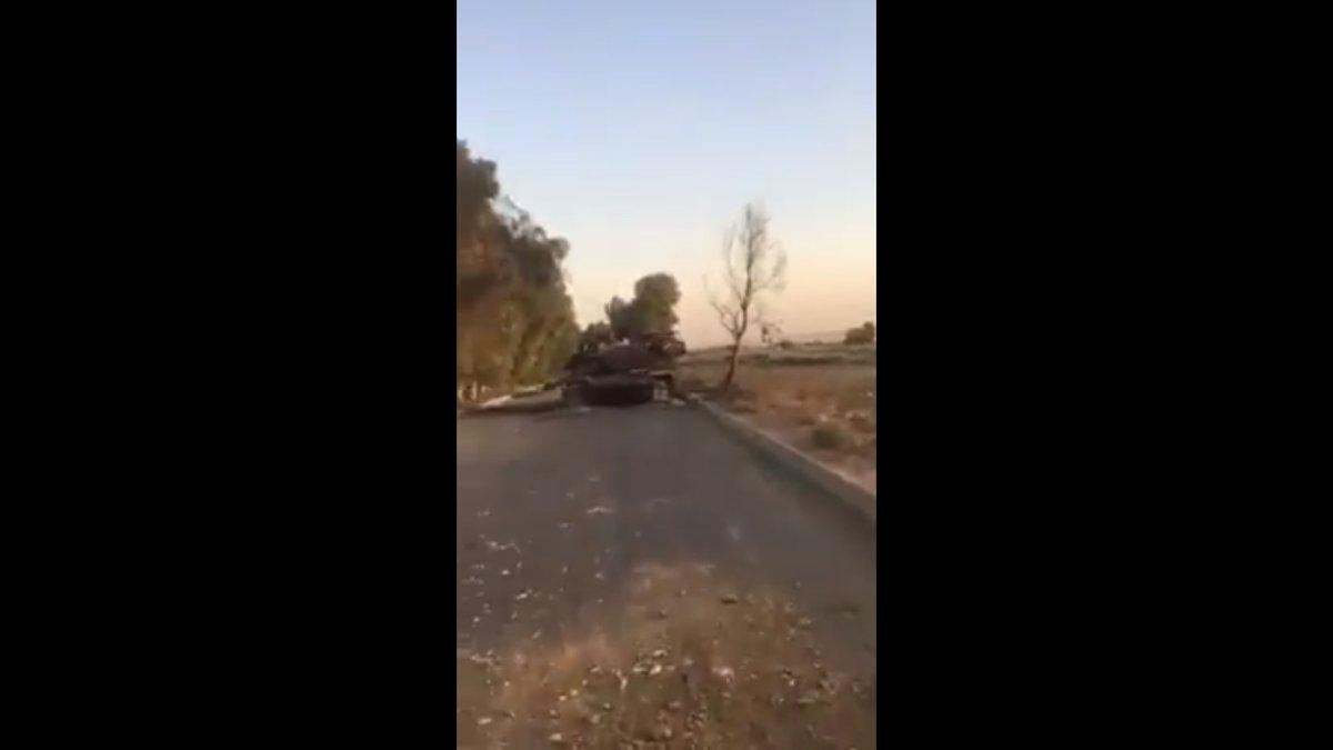 Φλέγονται «σαν λαμπάδες» αμερικανικά άρματα μάχης M1 Abrams – Αγριες συγκρούσεις 50 χλμ από την Ερμπίλ – Οι Κούρδοι ξεκινούν αντεπίθεση μετά την παρέμβαση ΗΠΑ - Εικόνα1