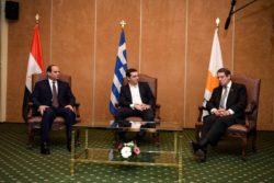 ΦΩΤΙΑ ΣΤΟ ΑΙΓΑΙΟ !  Η επερχόμενη  συνάντηση Αιγύπτου – Ελλάδος-Κύπρου  για την οριοθέτηση  ΑΟΖ πυροδοτεί εξελίξεις με την Τουρκία - Εικόνα1