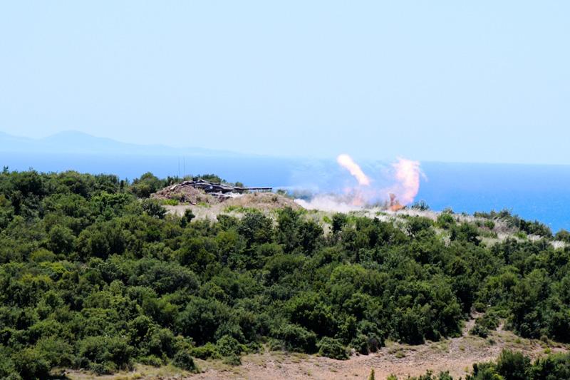 Φωτογραφίες: Εντυπωσιακές βολές αρμάτων μάχης από το Δ΄ Σώμα Στρατού - Εικόνα 1
