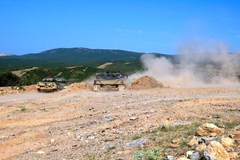 Φωτογραφίες: Εντυπωσιακές βολές αρμάτων μάχης από το Δ΄ Σώμα Στρατού - Εικόνα 5