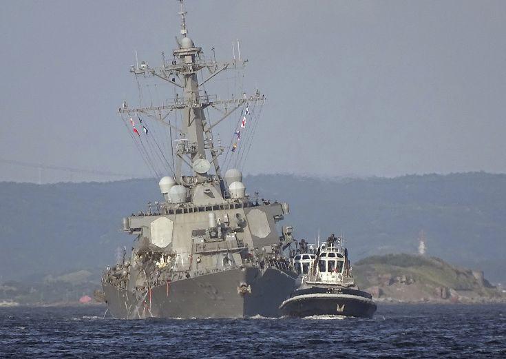 Φωτογραφίες από τη σύγκρουση πλοίων στην Ιαπωνία - Εικόνα