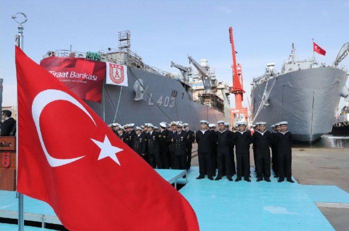 Στο φουλ δουλεύουν οι τουρκικές μηχανές: Tαχεία ναυπήγηση και δεύτερου αποβατικού πλοίου μετά το Bayraktar – Είναι ξεκάθαρο πλέον ότι ετοιμάζουν απόβαση… - Εικόνα0