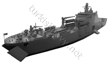Στο φουλ δουλεύουν οι τουρκικές μηχανές: Tαχεία ναυπήγηση και δεύτερου αποβατικού πλοίου μετά το Bayraktar – Είναι ξεκάθαρο πλέον ότι ετοιμάζουν απόβαση… - Εικόνα1