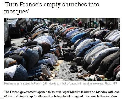 ΓΑΛΛΙΑ: Γέμισε Ιούδες η καθολική εκκλησία. Προδίδει το ποίμνιό της και το οδηγεί στην αγκαλιά (ή στο στόμα) του ισλάμ - Εικόνα7