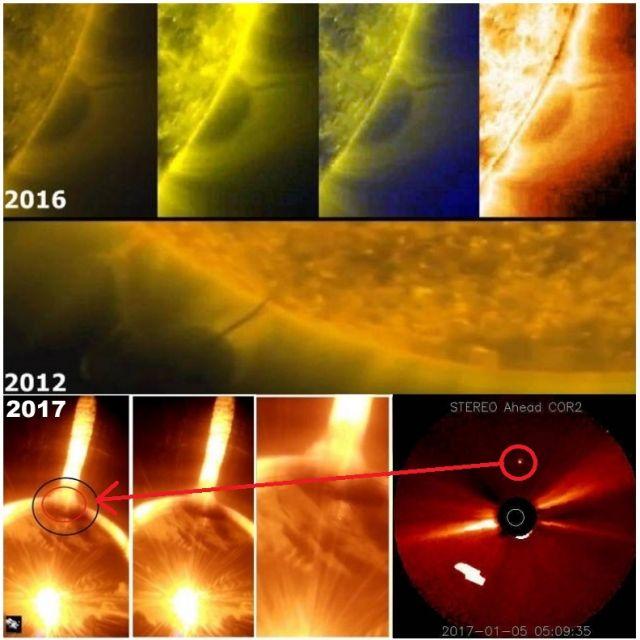 Γιγαντιαίο Σφαιρικό Αντικείμενο Βγαίνει από τον Ήλιο !;!;! - Εικόνα3