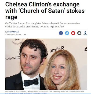 ΗΠΑ: Η Τσέλσι Κλίντον αντάλλαξε ευχές για το νέο έτος με την «Εκκλησία του Σατανά» (και οι liberal την αποθέωσαν) - Εικόνα1