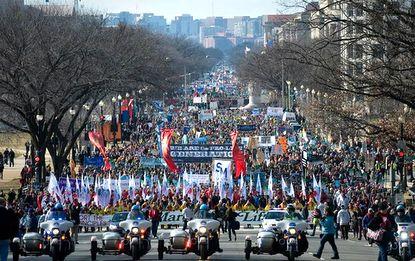 ΗΠΑ: Χιλιάδες διαδήλωσαν υπέρ της ζωής - Εικόνα2