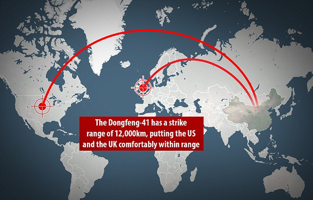 Το υπερόπλο της Κίνας: Πυρηνικός διηπειρωτικός πύραυλος με βεληνεκές 12.000 χιλιομέτρων - Εικόνα 1