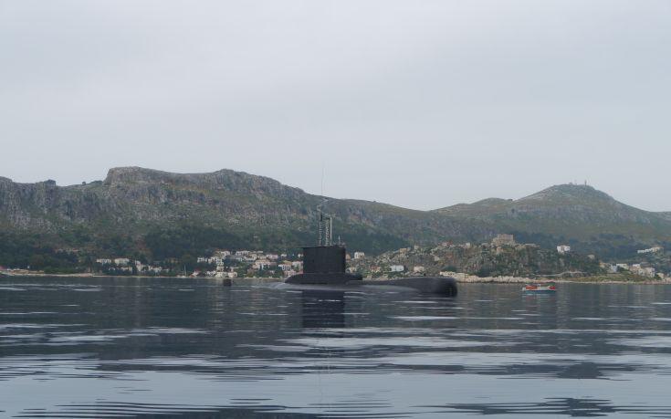 Το υποβρύχιο Αμφιτρίτη στην Μεγίστη - Εικόνα2