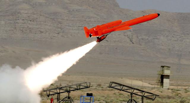 Ιρανικά  μη επανδρωμένα αεροσκάφη πετούν πάνω από το αεροπλανοφόρο των ΗΠΑ - Εικόνα2