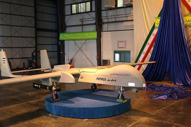 Ιρανικά  μη επανδρωμένα αεροσκάφη πετούν πάνω από το αεροπλανοφόρο των ΗΠΑ - Εικόνα3