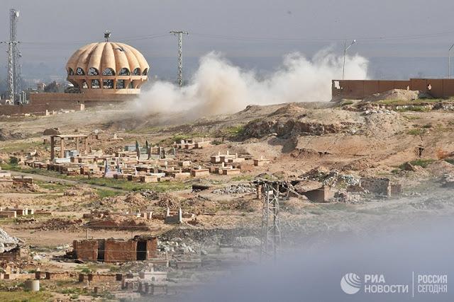 Ήρθε η ώρα να μιλήσουμε: γιατί οι τρομοκράτες του ISIS * φεύγουν από το Raqqah για την  Παλμύρα - Εικόνα1