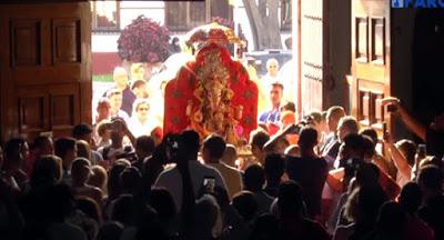 ΙΣΠΑΝΙΑ: Ινδουιστική θεότητα με μορφή ελέφαντα γίνεται δεκτή «με σεβασμό» σε καθολικό ναό - Εικόνα5